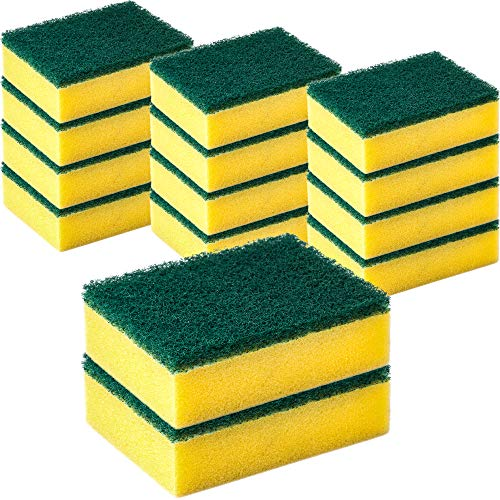 DecorRack 14 Cleaning Scrub Sponges for Kitchen $4.59 (34% Off)