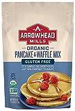 Arrowhead Mills Organic Gluten Free Pancake and Waffle Mix, 26 oz. Bag