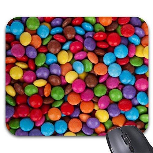 Mauspads Bunte runde Pralinen-Süßigkeiten-Maus-Matte