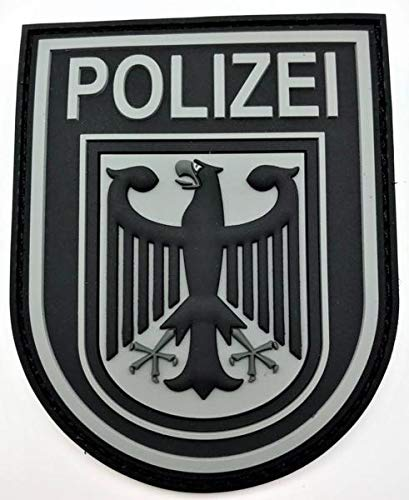 Polizeimemesshop Bundespolizei Black Ops Rubberpatch