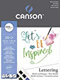 Papel de dibujo Canson Imagine multitécnica. Formato A4. Papel 200 g/m²