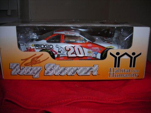 RACING COLLECTIBLE 1999 TONY STEWART #20 Pontiac Grand Prix HOME DEPOT/HABITAT 4 HUMANITY 1:24