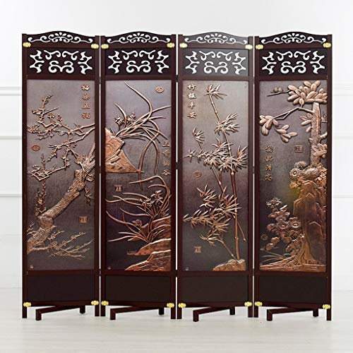 Find Bargain Even Living Protective Screens,Screens for Privacy,Chinese Solid Wood Screen,Folding Pa...