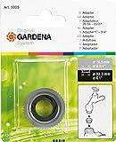 Gardena Adapter: Gewinde-Adapter zum Anschluss von Innengewinde (G 1 Zoll) auf Außengewinde (G 3/4 Zoll) für Bewässerungssysteme (5305-20)