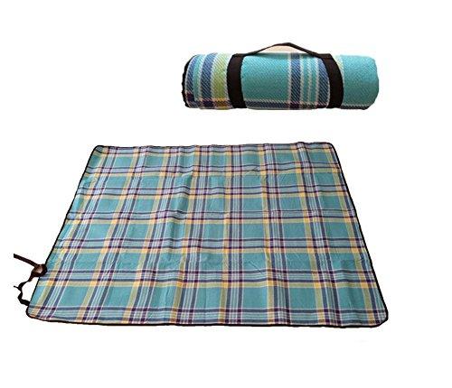 moistureproof pad tapis de camping bleu tapis de pique-nique carré extérieur pour pique-nique le camping