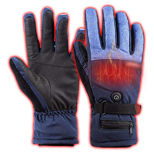 Story of life Smart-touchscreen-verwarmingshandschoenen outdoor-skiuitrusting temperatuurregeling in derde versnelling elektrisch verwarmde handschoenen
