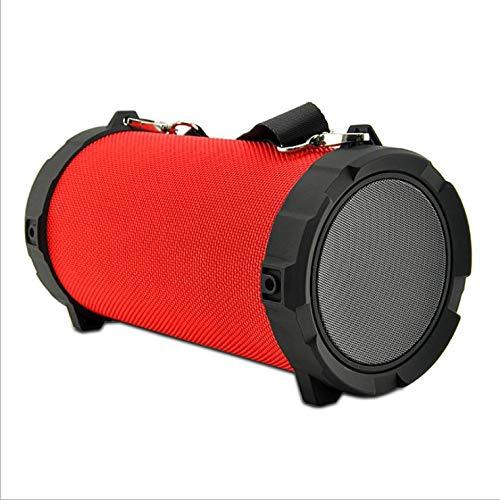 Altavoz estéreo con Pantalla Grande, Manos Libres, Resistente al Agua, se Puede Utilizar en Viajes Deportivos al Aire Libre.
