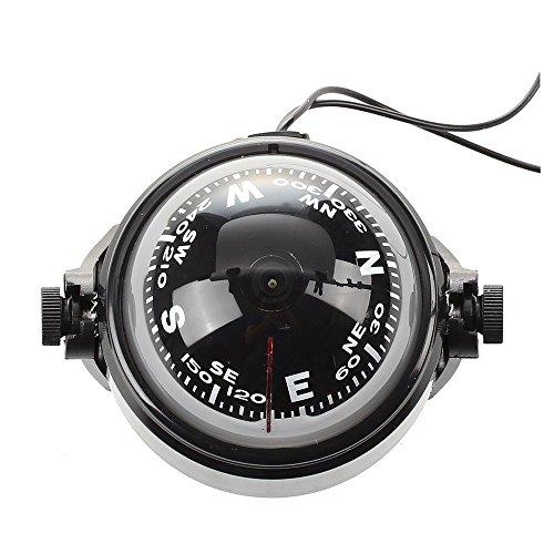 TOOGOO(R) Brujula de LED flotante magnetica Brujula de naveg