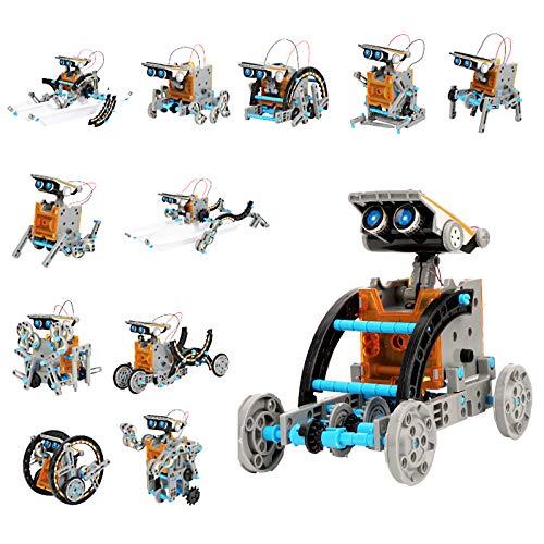 Ulikey Robot Juguete para Niños, 12 en 1 Kit de Ciencia, Kit...