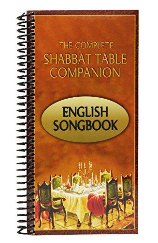 Die Komplette Sabbat Tisch Begleiter–Englisch Songbook