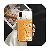 Beer Art Phone Case For Huawei Honor 6 7 8 9 10 10i 20 A C X Lite Pro Play Noir Trend Cell Cover...