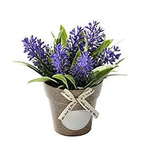 Flowers Fake for Rustic Wedding Party Garden Farmhouse Decor,Purple