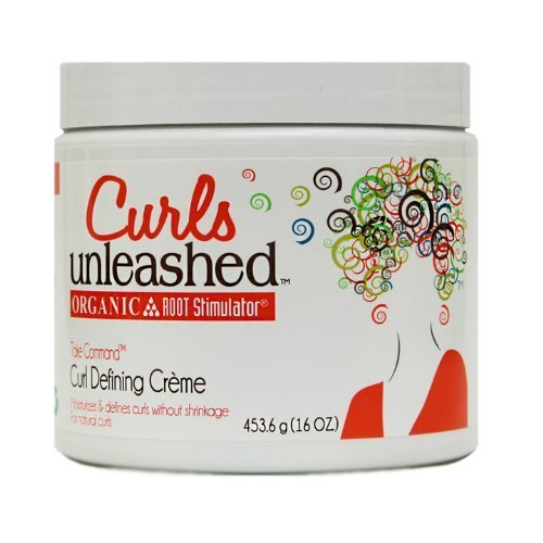 Organic Root Stimulator Curls Unleashed Take Command Curl Defining Creme, 16 Ounce by Organic Root Stimulator
