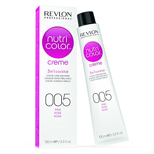 REVLON PROFESSIONAL Nutri Color Crème, Nr. 005 Pink, 1er Pack (1 x 100 ml)