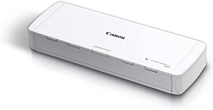 $176 » Canon imageFORMULA R10 Portable Document Scanner, 2-Sided Scanning with 20 Page Feeder, Easy Setup For Home or Office, Inc...