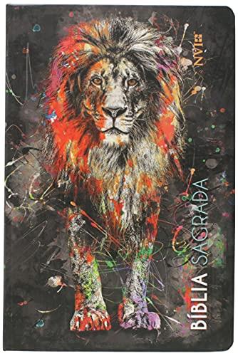 Bíblia Sagrada Nvi - Slim Leão Grafite