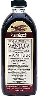 Double Strength Vanilla - 12 oz - by WT Rawleigh