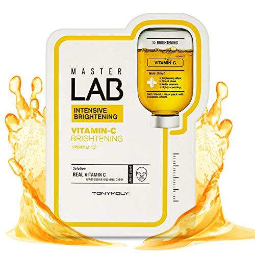TONYMOLY Hydrierende Gesichtsmaske mit Vitamin C,1er Pack (1 x 1 Stück)