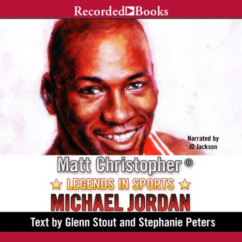 Legends in Sports: Michael Jordan audiobook cover art