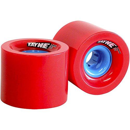 Rayne Lust Serie Skateboard-Rollen, blau Core, 70mm, 77A