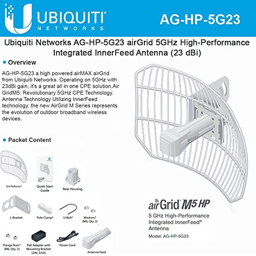 Ubiquiti AG-HP-5G23 AirGrid M