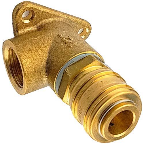 Qualitäts Druckluft Kupplungsdose | Wandwinkel mit 1/2 Zoll Innengewinde |...