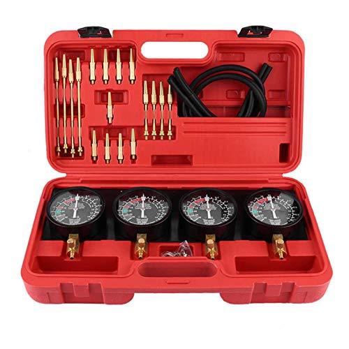 Kraftstoff-Vakuum-Vergaser-Synchron-Messgeräte Set 4-Zylinder-Balancer Stoßfestwerkzeug für Auto Motorrad 45# Stahl