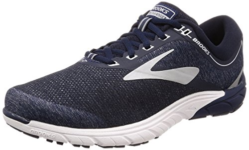 Brooks Men's PureCadence 7 (8.5, Peacoat/Silver/White)