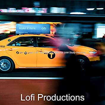 Hip Hop Jazz Lofi - Background Music for 1AM Study Sessions