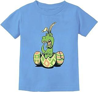 T-Rex Bunny Easter Egg Funny Gift Easter Toddler/Infant Kids T-Shirt 5/6 California Blue