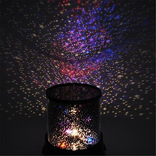 Romántico increíble cielo estrella maestro noche luz lámpara colorido proyector cosmos