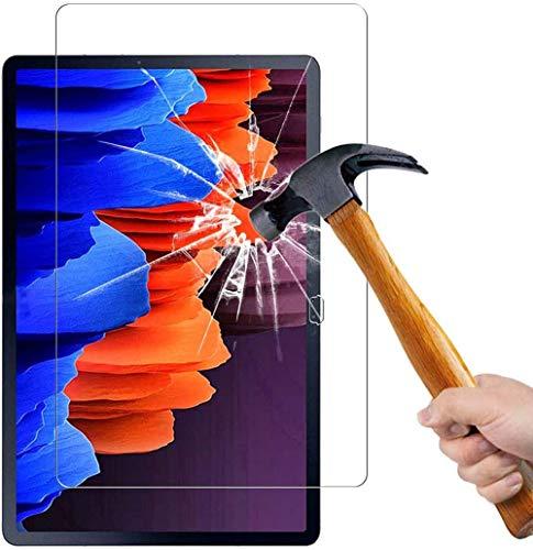 Lobwerk Protector de pantalla de cristal para Samsung Galaxy Tab A7 SM-T500 T505 de 10,4 pulgadas