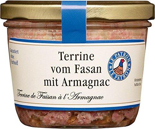Terrine vom Fasan mit Armagnac