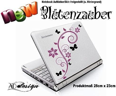 Aufkleber f r Notebook Laptop Skin quot BL TENZAUBER quot freie Folienfarbwahl Schätzpreis : 6,95 €