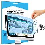 FiiMoo Retirable 24 Pulgadas Anti Bluelight Filtro de Pantalla, Filtro Anti Deslumbrante Protección para Los Ojos Protector de Pantalla para Computer/Monitor 24' 16: 9
