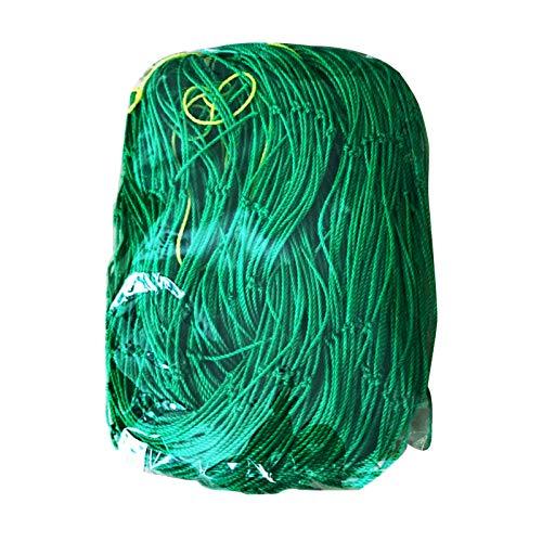 Eyerayo Pflanzen-Rankgitter, Ranknetz für Garten, für Gemüse, Klematis, Gurken, Trauben, Tomaten, Blumen und Rebpflanzen (1,8 x 2,7 m)