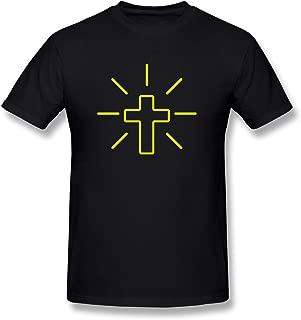 KEMING Men's Jesus T-Shirt