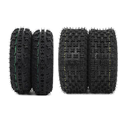 Set of 4 P336 ATV Tire 21x7-10 Front & 20x10-9 Rear, 4Ply