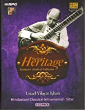 Ustad Vilayat Khan - The Great Heritage Exclusive Archival Collection (3-CD Pack / Hindustani Classical Instrumental - Sitar) by Ustad Vilayat Khan