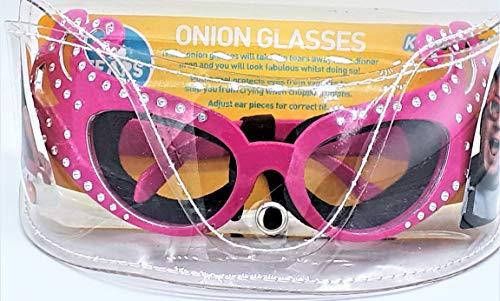 Kitchen Craft Kitsch'n'Fun - Gafas para cortar cebolla, diseño de Dame Edna