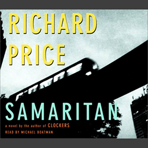 Samaritan audiobook cover art