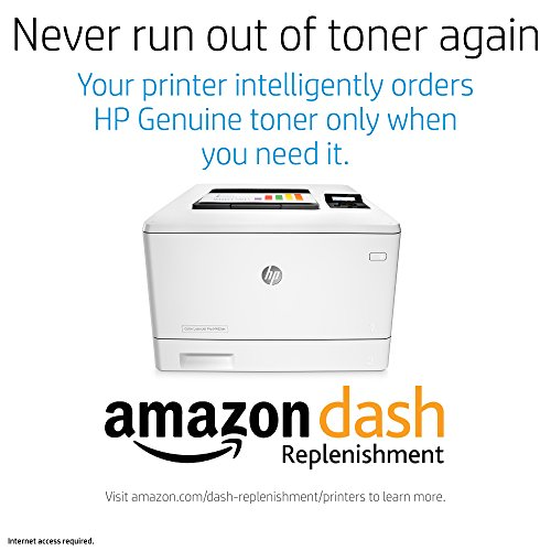 HP LaserJet Pro M452dn Color Laser Printer with Built-in Ethernet & Double-Sided Printing, Amazon Dash replenishment ready (CF389A)