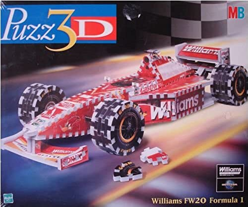 MB Puzz3D - Formel 1 Williams FW20, 361 Teile