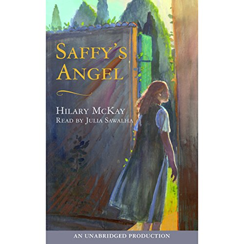 Saffy's Angel audiobook cover art