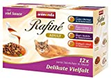 Animonda rafine Adult Chat Doublure delikate diversité en Sauce, 4 x 12 Pack de Mix (48 x 100 g)