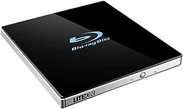 Lite-On 24x Ultra-Slim Portable USB 3.0 Blu-Ray UHD/DVD Writer Optical Drive EB1 - Supports BDXL/BD/DVD/CD/UHD/M-Disc - Bo...