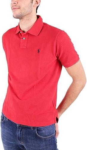 Ralph Lauren Homme 710666998003 Rouge Coton Polo