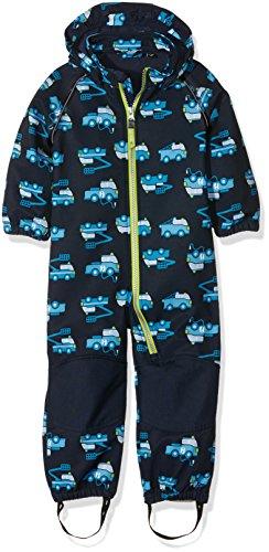 NAME IT Jungen NITALFA M SOFTSH Suit AOP B FO 316 Schneeanzug, Mehrfarbig (Dress Blues), 92