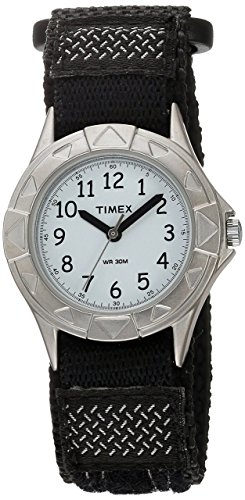 Timex Boys T79051 My First Outdoors Black Fast Wrap Strap Watch