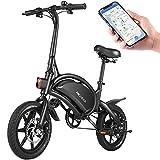 ANCHEER Electric Bike Electric Commuter Bike 500W Ebike 14'' Electric Bicycle, 20MPH...